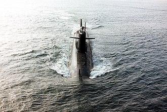 USS Thomas Jefferson (SSBN-618) - Image: USS Thomas Jefferson SSBN 618