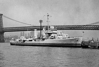 USS Turner (DD-648) - Image: USS Turner (DD 648)