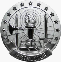 US Army Instructor Identification Badge
