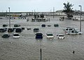 US Navy 051024-N-7664R-001 A parking lot on board Naval Air Station Key West, Fla., is flooded after being hit by Hurricane Wilma.jpg