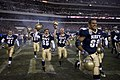 US Navy 061202-N-5319A-053 The U.S. Naval Midshipmen football team celebrates after winning the 2006 Army Navy Game.jpg