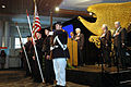 US Navy 070309-N-2456S-009 Members of Tidewater Maritime Living History Association present the colors during the opening ceremony for the USS Monitor Center at the Mariner's Museum in Newport News.jpg