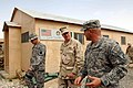 US Navy 080815-N-8273J-450 Chief of Naval Operations (CNO) Adm. Gary Roughead, middle, tours Provincial Reconstruction Team (PRT) Ghazni while visiting with Sailors, Marines and Soldiers.jpg