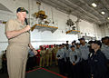 US Navy 080819-N-1161Z-019 Chief of Naval Operations (CNO) Adm. Gary Roughead speaks to Sailors.jpg