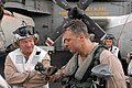 US Navy 080911-N-7730P-082 Ronald Reagan Strike Group Commander Adm. Phil Wisecup and Cmdr. Christopher.jpg