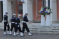 US Navy 111207-N-AQ948-035 Members of the Naval Support Activity Naples color guard prepare to raise the colors during a ceremony remembering the D.jpg