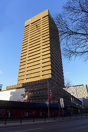 UTS Tower - Image: UTS Tower Building 201708
