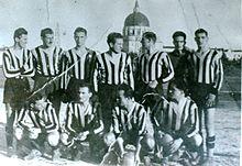 Giocatori dell'Udinese nel 1944