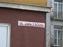 Ulica Jana z Kolna, Gdynia - 003.JPG