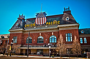 Salt Lake City Union Pacific Depot - The Union Pacific Depot in Salt Lake City Photo taken 3 Feb 2011