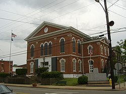 Union County Courthouse in Morganfield