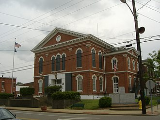 Union County, Kentucky - Image: Union County Courthouse Kentucky