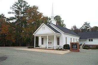 Deepstep, Georgia - United Methodist Church
