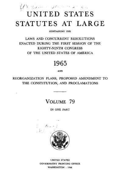 File:United States Statutes at Large Volume 79.djvu