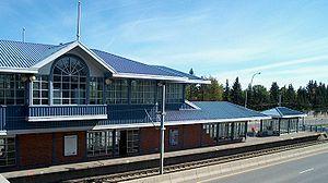 University station (Calgary) - Image: University Ctrain Station Calgary