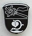 Unterhaching, Rathaus, Wappen, 1.jpeg