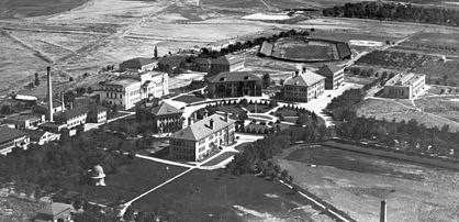 The University of Utah campus in the early 1920s UofU campus close-up early 1920s.jpg