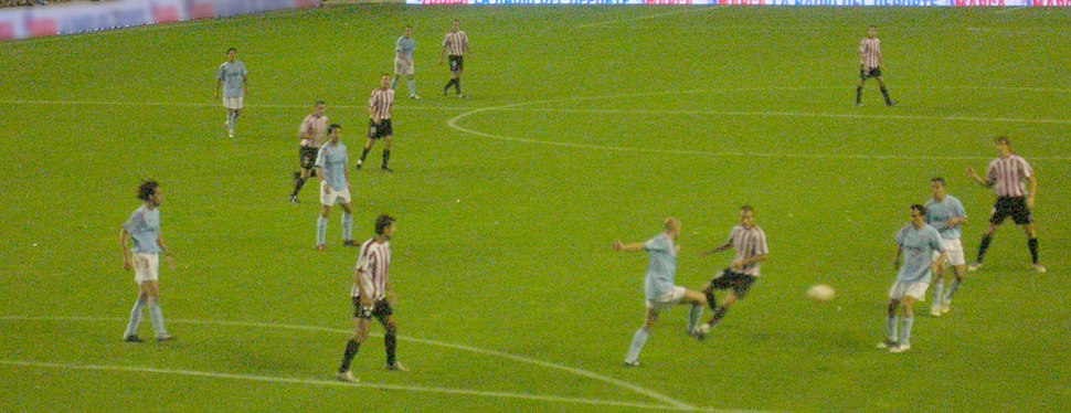 Partido do Celta en San Mamés en 2005.
