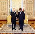 Välisminister Urmas Paet kohtus Tadžikistani presidendi Emomali Rahmoniga (6688424365).jpg