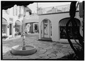 VIEW OF COURTYARD FROM NORTH - Paramount Theatre, Sunrise Avenue and North County Road, Palm Beach, Palm Beach County, FL HABS FLA,50-PALM,5-9.tif