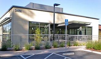 VMware - Image: V Mware HQ campus 3401 Hillview entrance