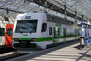 VR Class Sm4 - Sm4 unit at Helsinki Central station.