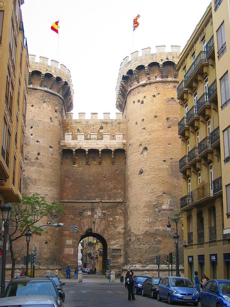 James l y el Reino de Valencia - Página 2 800px-Val%C3%A8ncia_Portes_de_Quart