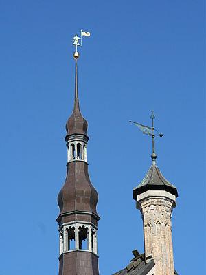 Old Thomas - Tallinn's Town Hall spire