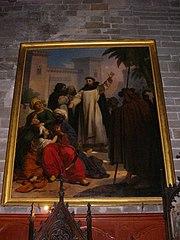 saint Vincent ferrier prêchant les infidèles