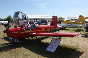 Van's Aircraft RV-12 - The first RV-12, built by Richard VanGrunsven, at Oshkosh 2008.