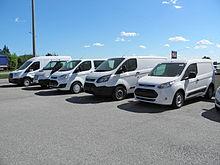 Serie di veicoli commerciali Ford commercializzati in Italia. (2014)