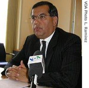 Gaddi Vasquez - Gaddi Vasquez, U.S. ambassador for United Nations food and agriculture agencies, in 2008