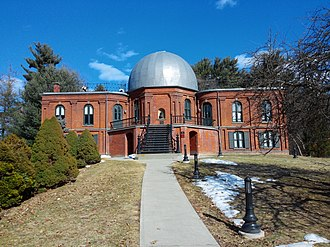 Vassar College - The Vassar College Observatory is one of two National Historic Landmarks on the college's campus, along with Main Building.