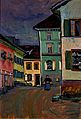 Vassily Kandinsky, 1908 - Murnau Top of the Johannisstrasse.jpg