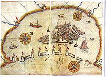 Map of Venice by Piri Reis