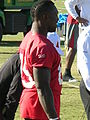 Vernon Davis at 49ers training camp 2010-08-11 5.JPG