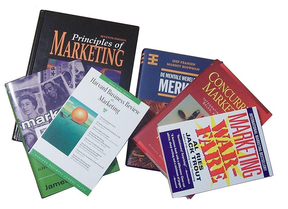 Verzameling marketing boeken