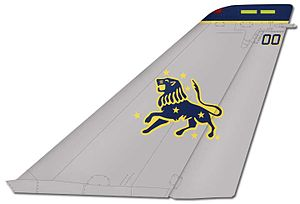 VFA-213 - VF-213 F-14 tail markings