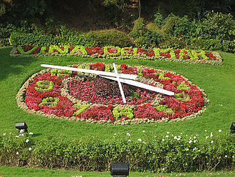 Viña del Mar - View from Flower Clock, one of the main tourist landmarks of the city