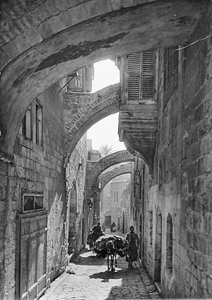 Via Dolorosa, Jerusalem.