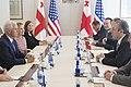 Vice President Mike Pence and Georgia Prime Minister Giorgi Kvirikashvili, August 1, 2017 (36180587511).jpg