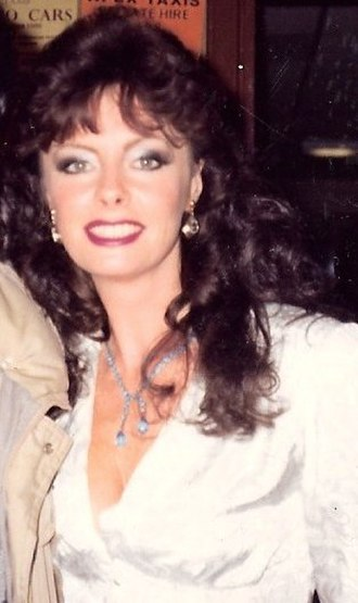 Vicki Michelle - Michelle on tour in 'Allo 'Allo! in 1986