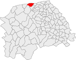 Vị trí của Vicovu de Sus