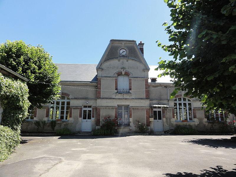 Viel-Arcy (Aisne) mairie-école