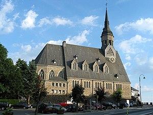 Vielsalm - St. Gengoul's church in Vielsalm