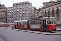 Vienna tram type L on line 5 at Markthalle Nußdorfer Straße 1976.jpg