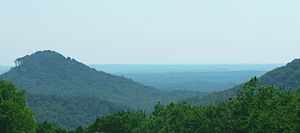 Upstate South Carolina - View of the Upcountry from I-26 in Spartanburg County