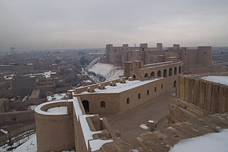 Culture of Afghanistan - Herat Citadel in the western Afghan city of Herat