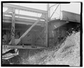 View southwest, abutment no. 1 - Wabash River Bridge, Spanning Wabash River at U.S. Highway 40, Terre Haute, Vigo County, IN HAER IN-64-9.tif