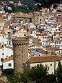 Vila Vella enceinte and parish church, Tossa de Mar, Catalonia, Spain.JPG